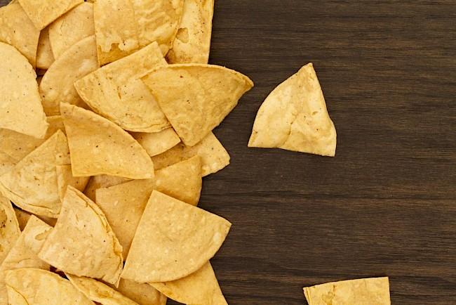Nachos'y - kalorie, kcal, ile waży