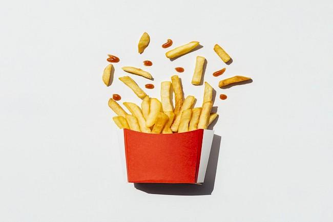 Frytki McDonalds - kalorie, kcal, ile waży